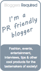 PR Friendly - Blogger Required